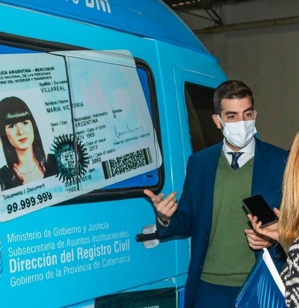 Desde el lunes se  tramita el DNI y pasaporte de personas no binarias en Catamarca