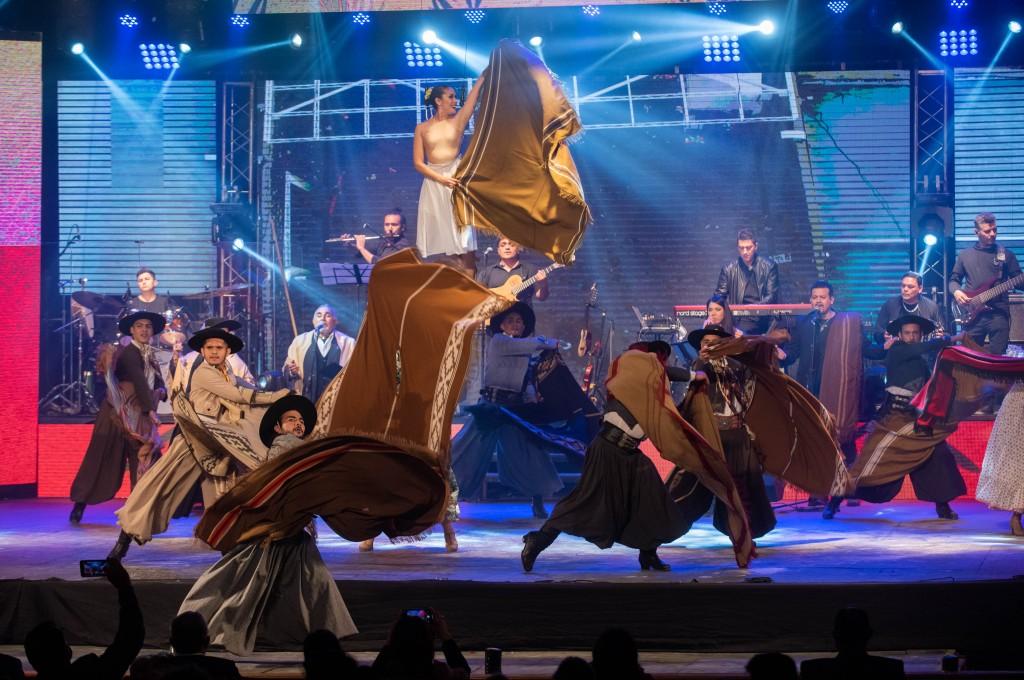 Arrancó la 50º Fiesta Nacional del Poncho