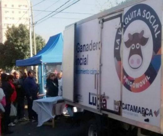 """""""La Vaquita Social"""" estará el sábado en la Plaza de Choya"""