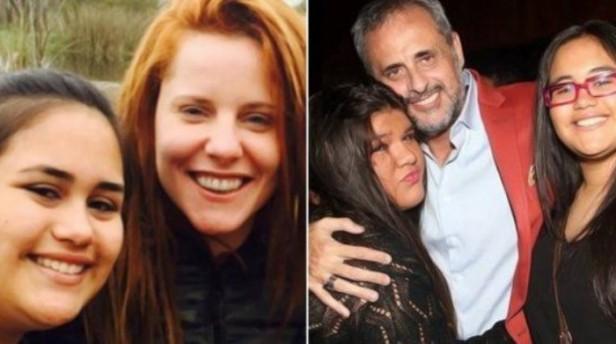Viaje familiar de Jorge Rial con sus hijas y Agustina Kämpfer
