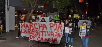 ROSARIO: Volvieron a marchar por la restitución de una nena de 10 años que estaría en Chumbicha