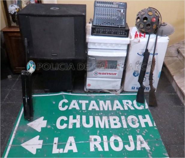 Secuestran  elementos robados en el Sur de la ciudad