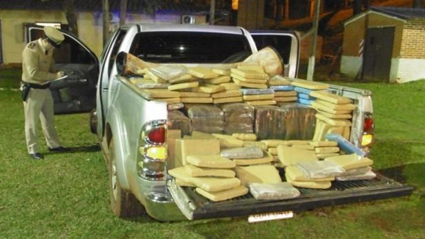 Narcotráfico: secuestran una tonelada de marihuana