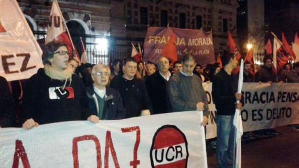 Con marchas en todo el país, la UCR exigió Justicia por el asesinato de Ariel Velázquez