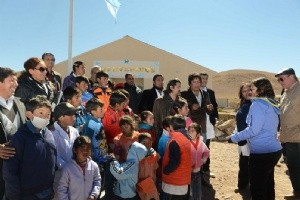 Lucía inauguró dos nuevas escuelas