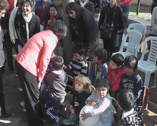 Lucía asistió a los festejos por los 89 años de Casa Cuna