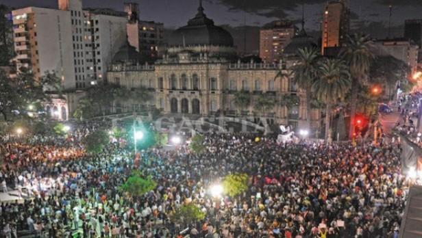 TUCUMAN: El lunes esta prevista una nueva marcha contra el Fraude electoral