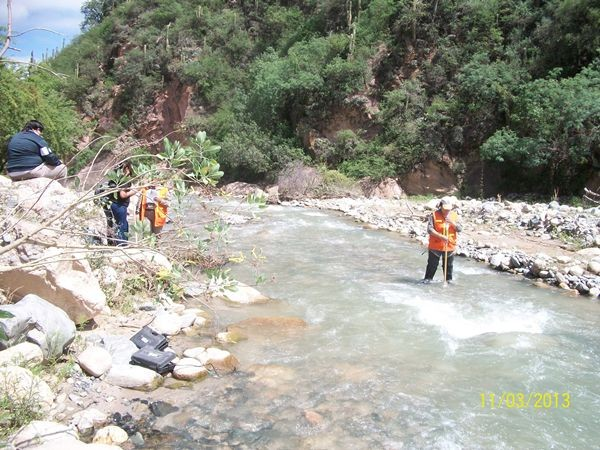 Minería supervisa tareas en el ducto de Alumbrea