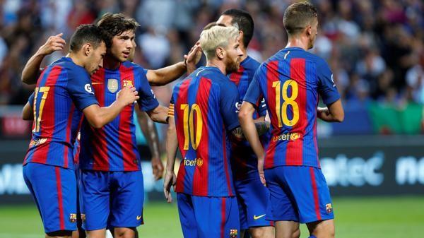 Messi fue clave en el triunfo del Barcelona ante el campeón inglés