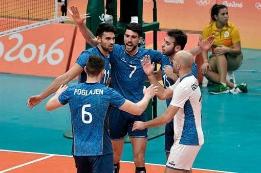 La selección de vóleibol jugó en un nivel extraordinario y venció a Rusia