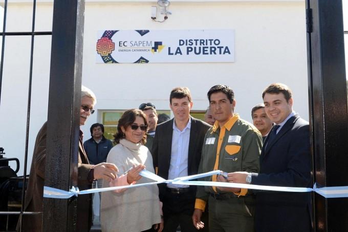 Lucía recorrió Ambato e inauguró obras
