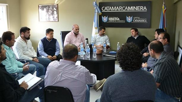 Minería, con la Cámara de Proveedores de Andalgalá y Alumbrera