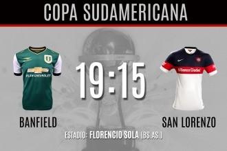 San Lorenzo, un gran candidato, debuta en la Sudamericana ante Banfield