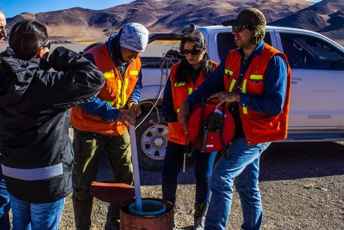 Controles y monitoreos en Antofagasta de la Sierra