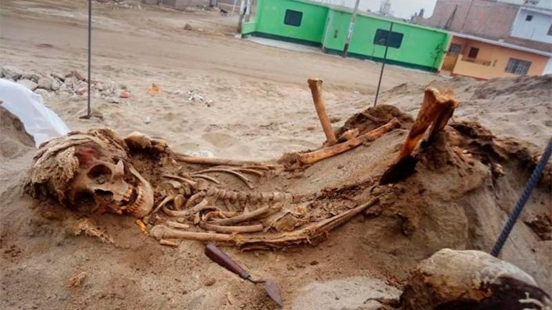 Impactante: encontraron un nuevo sitio de sacrificios de niños
