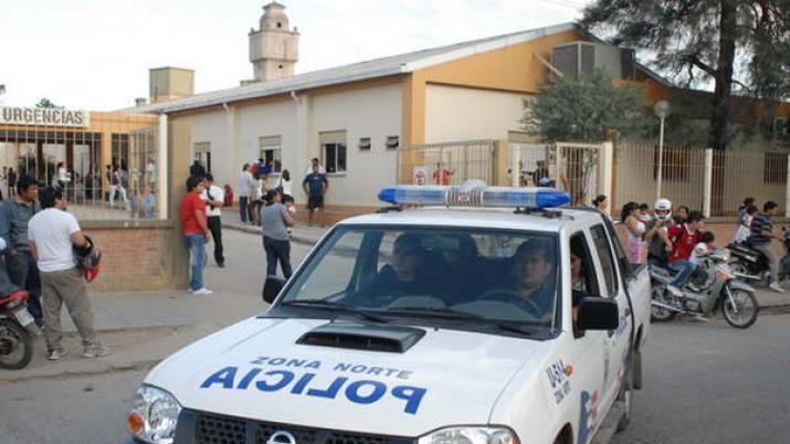 Niño de 12 años, grave al ser baleado en Frias  cuando policías perseguían a ladrones