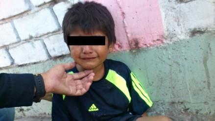 Encontraron a un niño de cuatro años deambulando solo en la calle