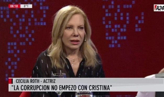 Cecilia Roth: La época más feliz en la Argentina fue con Néstor y Cristina