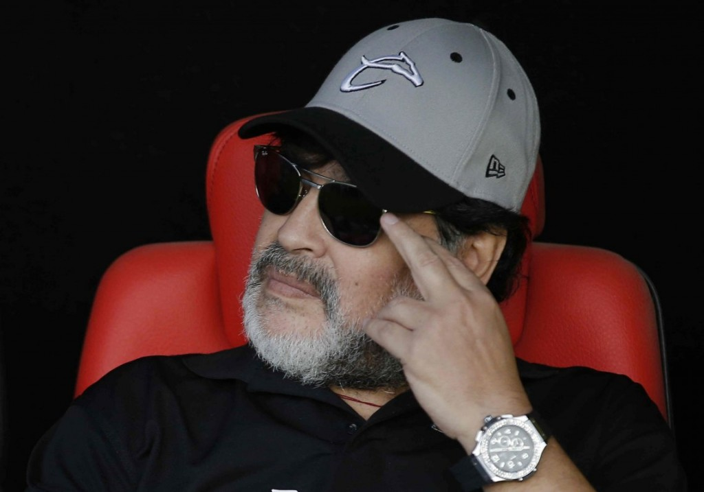 Maradona hace campaña contra Macri y  llamó a NO votarlo