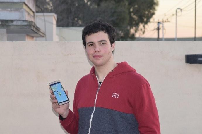 Tiene 17 años y creó una app para ayudar a personas en situación de calle