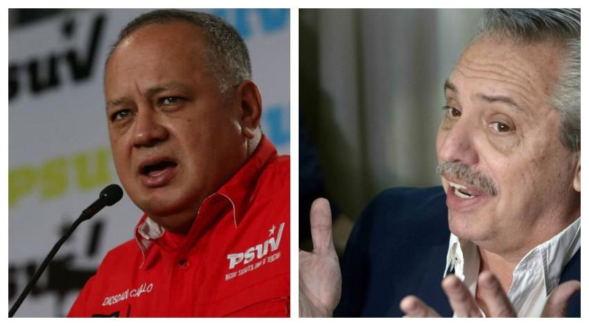 La advertencia de una de las figuras del chavismo a Alberto Fernández