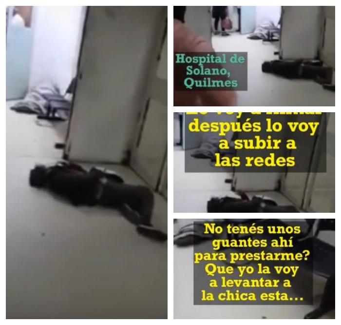 Abandono de persona en el Hospital Solano de Quilmes