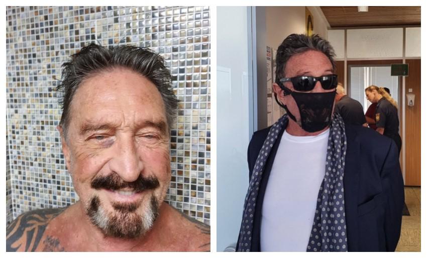 Papelón: empresario millonario terminó detenido por usar una tanga como tapabocas