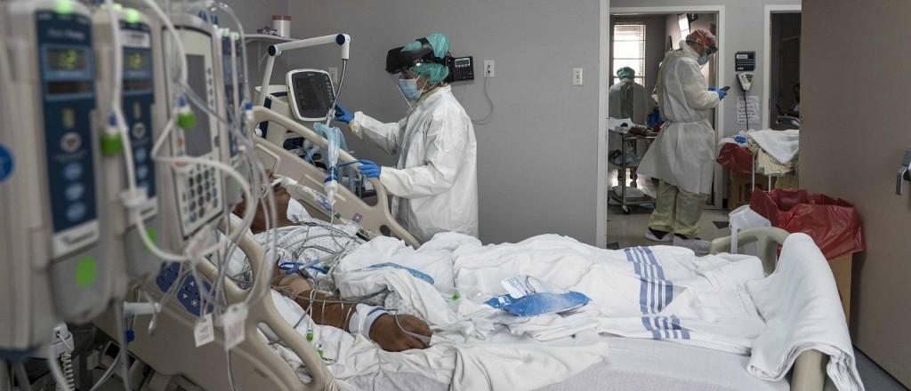 Se registraron 7663 contagios y 209 fallecidos en Argentina