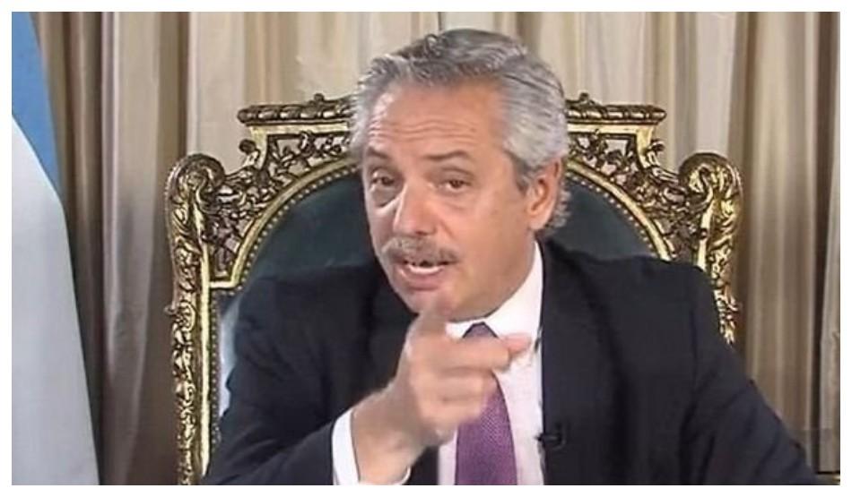 """""""Están equivocados"""": Alberto Fernández, sobre la marcha convocada por la oposición"""