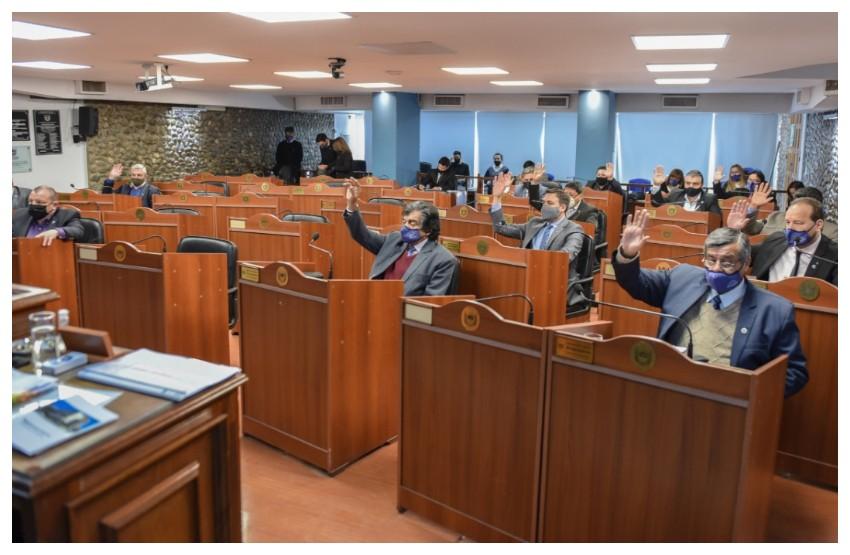 Senado de Catamarca:  Decimosegunda sesión ordinaria, en la que se trataron y aprobaron diversos proyectos