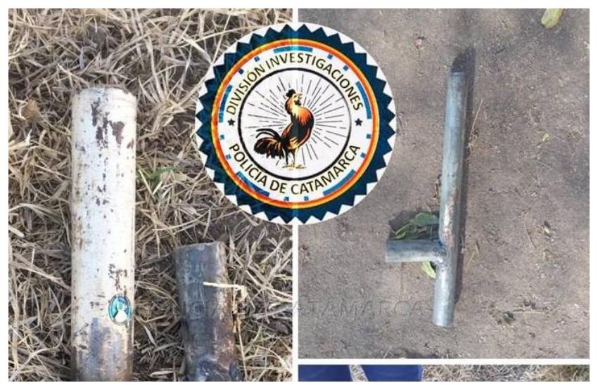 Secuestran armas tumberas en el sector sur de la Capital