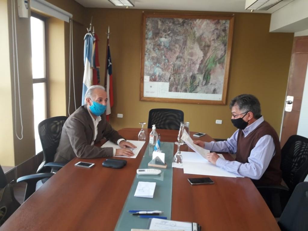 Importante reunión del RENATRE  con el gobierno Provincial