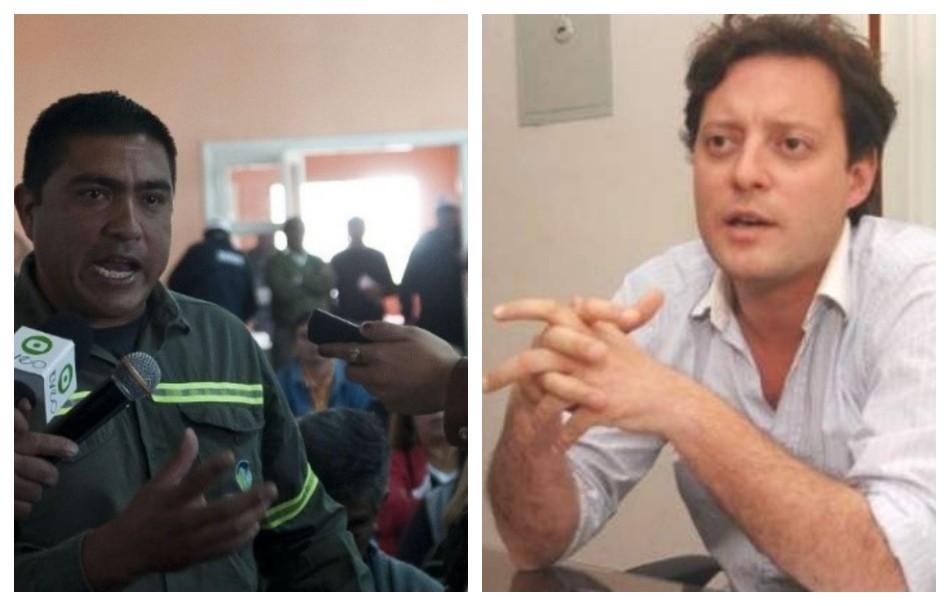 Walter Arévalo: Por 72 hs protesta frente a la casa de un funcionario municipal