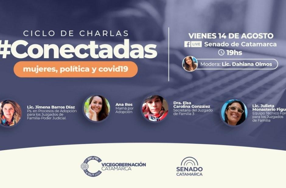 Charla de Vicegobernación: #Conectadas tratará el tema de la adopción