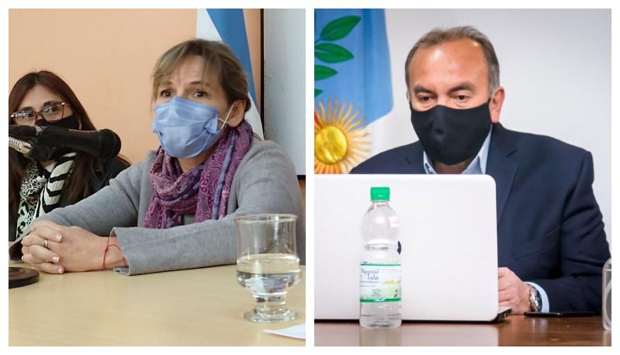 Palladino pidió responsabilidad a los gremios y enfatizó que sus reclamos no deben poner en riesgo la salud de la población