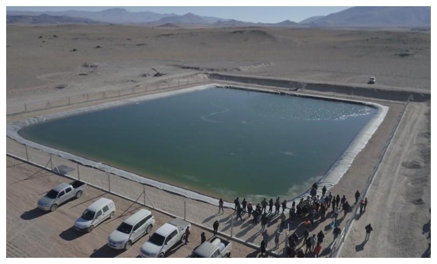 Provincia inauguró un reservorio de agua y lanzó la obra del dique Paicuqui