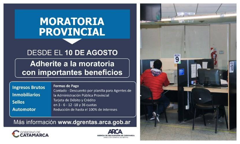 ARCA lanza moratoria para pagar impuestos provinciales