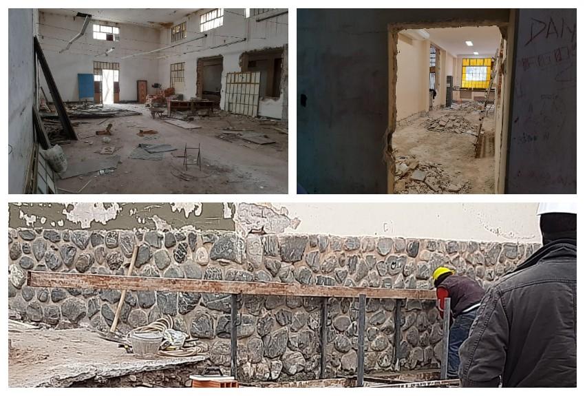 Iniciaron obras de remodelación en la ENET N° 1