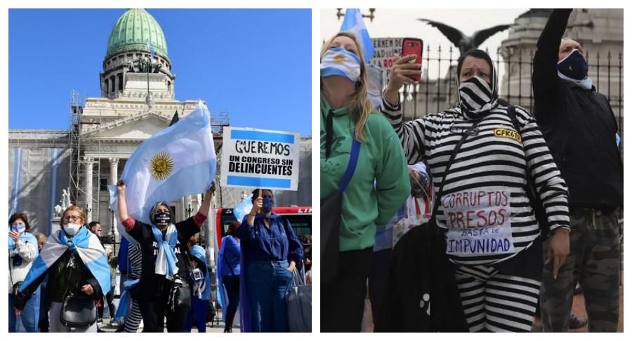 VIVO. Arrancó el debate en el Senado por la reforma judicial penal y crece el banderazo