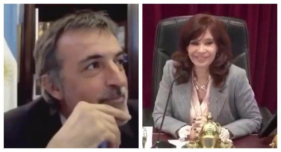 "Cristina Kirchner ""chicaneó"" a Esteban Bullrich y el legislador retrucó la apuesta"