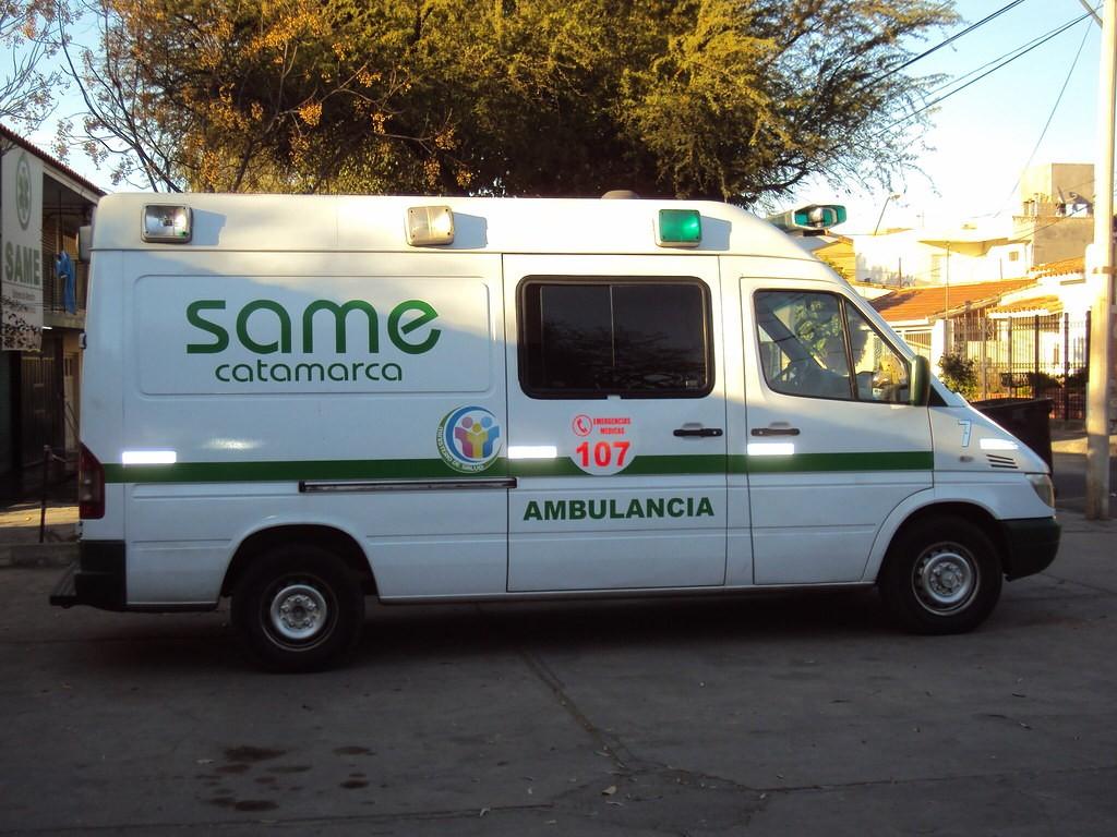 SAME participó de una jornada de emergencias