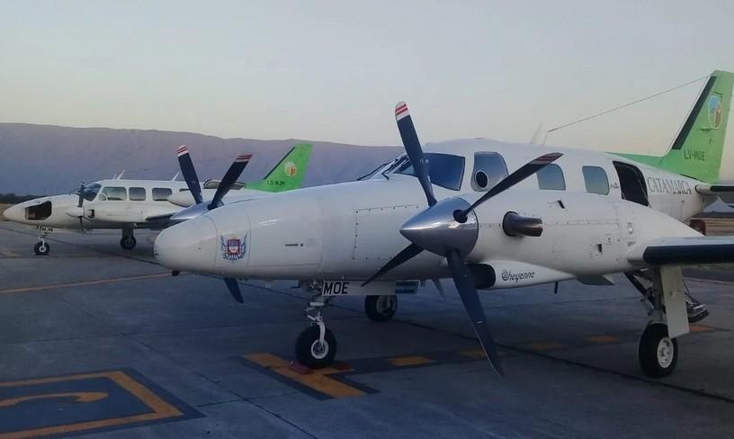 La Provincia ya cuenta con dos aviones sanitarios