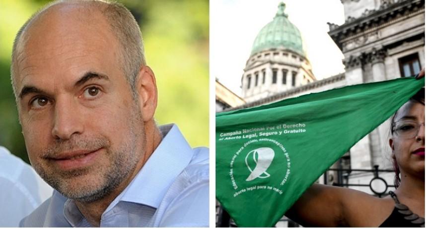 Rodríguez Larreta habilitó el protocolo de interrupción legal del embarazo con ajustes en la Ciudad de Buenos Aires
