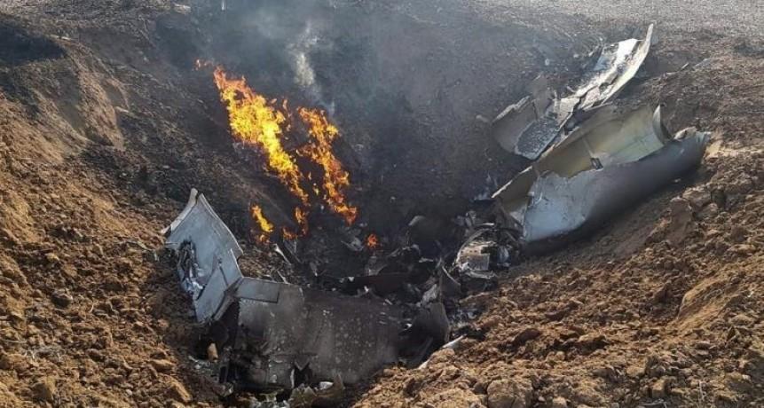 Cayó un avión de la Fuerza Aérea al sur de Córdoba: murió el piloto