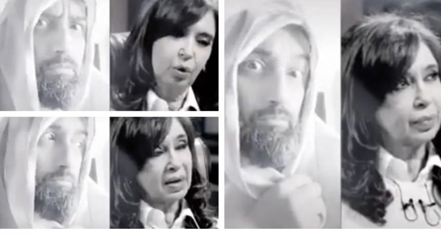 El video viral de Cristina y la reacción de Dios ante sus dichos