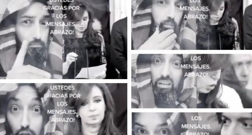 El video viral de Cristina y la reacción de Dios ante sus dichos PARTE 2