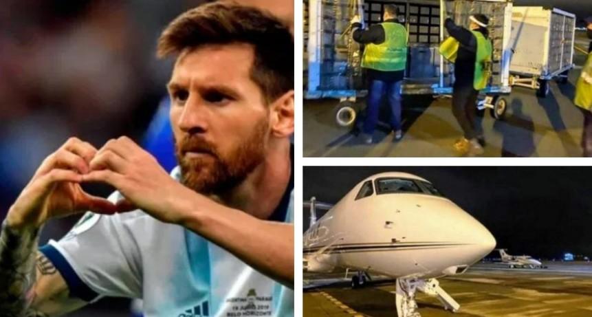Llegaron los primeros 32 respiradores donados por Lionel Messi