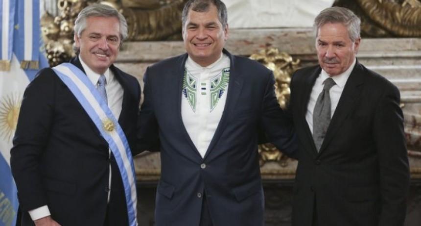 Argentina refugió en su embajada en Quito a una ministra de Correa condenada por corrupción