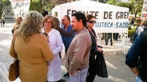 La intersindical docente presenta recurso de amparo por los descuentos