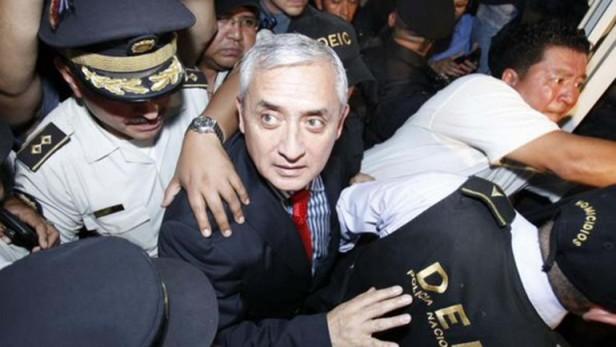 Ordenan prisión preventiva para el ex presidente guatemalteco Otto Pérez Molina
